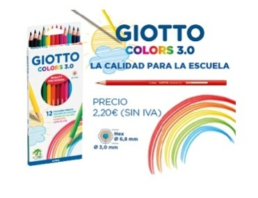 LAPIZ GIOTTO COLORS 3.0